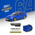 [予約]Tarmac(ターマック) 1/64 Subaru WRX STI  EJ20 Final Edition Blue ※コンテナBOX