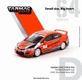 [予約]Tarmac(ターマック) 1/64 ホンダ シビック Type R FD2 MUGEN POWER Cup CIVIC One Make Race 2012