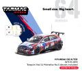 [予約]Tarmac(ターマック) 1/64 Hyundai i30 N TCR WTCR 2019 デカール付: No. 1 Tarquini & No.5 Michelisz