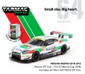 [予約]Tarmac(ターマック) 1/64 日産 ニスモ GT-R GT3 Macau GT Cup FIA GT World Cup 2018 With Metal Oil Can ドライバー:T.Matsuda