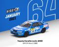 [予約]Tarmac(ターマック) 1/64 Toyota Corolla Levin AE92 SPA 24 Hours 1989