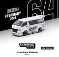 Tarmac(ターマック) 1/64 Toyota Hiace Widebody White