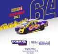 [予約]Tarmac(ターマック)1/64 Toyota Hilux SuperUtes Series 2018 Ben Walsh
