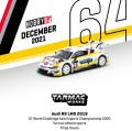 [予約]Tarmac(ターマック)1/64 Audi R8 LMS 2019 GT World Challenge Asia Esports Championship 2020 Tarmac eMotorsports