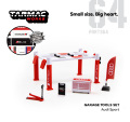 [予約]Tarmac(ターマック) 1/64 Garage tools set Audi Sport