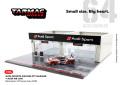 [予約]Tarmac(ターマック) 1/64 Diorama - Racing Pit Garage Audi Sport +Audi R8 LMS Blancpain GT Series Asia 2018 ※車両付属 ※世界限定 999pcs