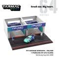 [予約]Tarmac(ターマック) 1/64 Pit Garage Diorama - FALKEN + Porsche 911 GT3 R (991) Nürburgring 24h 2018