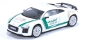 [予約] Tarmac(ターマック) 1/64 GLOBAL64 Audi R8 V10 PLUS Dubai Police (silver multi-spoke rims)