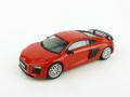 Tarmac(ターマック) 1/64 GLOBAL64 Audi R8 V10 PLUS Dynamite Red (silver multi-spoke rims)