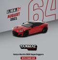 [予約]Tarmac(ターマック)1/64 アストンマーチン DBS Superleggera レッドメタリック