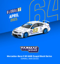 [予約]Tarmac(ターマック) 1/64 Mercedes-Benz C63 AMG Black Series GUMBALL 3000 2016