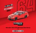 [予約]Tarmac(ターマック) 1/64 Mercedes-Benz C 63 AMG Coupé Black Series Red