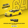 Tarmac(ターマック) 1/64 Mercedes-Benz C 63 AMG Coupé Black Series Yellow Metallic