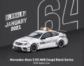 [予約]Tarmac(ターマック) 1/64 Mercedes-Benz C 63 AMG Coupé Black Series DTM Safety Car