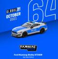 [予約]Tarmac(ターマック)1/64 Ford Mustang Shelby GT350R German Police