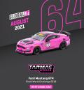 Tarmac(ターマック)1/64 Ford Mustang GT4 Pirelli World Challenge 2018