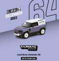 [予約]Tarmac(ターマック)1/64 Land Rover Defender 90 マットブルーグレー