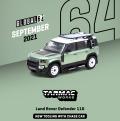 [予約]Tarmac(ターマック)1/64 Land Rover Defender 110 グリーンメタリック