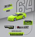 [予約]Tarmac(ターマック)1/64 VERTEX Silvia S14 ライトグリーン