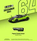 [予約]Tarmac(ターマック)1/64 Pagani Zonda Cinque Verde Firenze