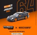 [予約]Tarmac(ターマック)1/64 Porsche 911 GT3 RS (997) Black ※世界限定1500台