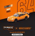 [予約]Tarmac(ターマック)1/64 ポルシェ 911 GT3 RS (997)  オレンジ ※世界限定1500台