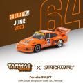 [予約]Tarmac(ターマック)1/64 Porsche 935/77 DRM Zolder Bergischer Lowe 1977 #52 Winner