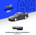 [予約]Tarmac(ターマック)1/64 Mercedes-Benz 190 E 2.5-16 Evolution II Racing Version in Black Metallic ※世界限定1248台