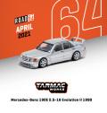 [予約]Tarmac(ターマック) 1/64 Mercedes-Benz 190E 2.5-16 Evolution II 1990 シルバー