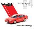 [予約]Tarmac(ターマック) 1/64 Toyota Corolla Levin (AE92) Red
