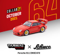 [予約]Tarmac(ターマック)1/64 Porsche 911 (993) GT2 レッド