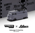 [予約]Tarmac(ターマック)1/64 Volkswagen T1 Panel Van Mean Streets Special Edition with metal oil can and special paper box ※オイル缶パッケージ