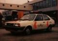 [予約]LG55 トリプル9 1/43 T9 1981 ボルボ 343 アムステルダム スキポール空港警察