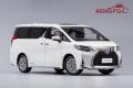 [予約]KENGFai(ケンファイ) 1/18 トヨタ レクサス LM300h パールホワイト ※右ハンドル仕様