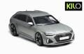 [予約]KILO WORKS(キロワークス) 1/18 2021 Audi RS6 C8 Avant グレー