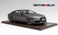 [予約]MOTORHELIX(モーターへリックス) 1/18 Audi RS7 2017 sportback performance Matt Grey