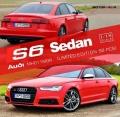 [予約]MOTORHELIX(モーターへリックス) 1/18 Audi S6 Sedan 2016 ミサノレッド