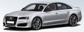 [予約]MOTORHELIX(モーターへリックス) 1/18 アウディ S8 Plus 2017 フローレットシルバーマット