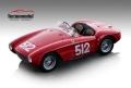 [予約]Tecnomodel(テクノモデル) 1/18 フェラーリ 500 モンディアル ミッレミリア 1954 #512 E.Sterzi/O. Rossi