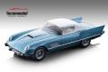 [予約]Tecnomodel(テクノモデル) 1/18 フェラーリ 410 スーパーファスト(0483 SA)1956 メタリックライトブルー/ホワイト