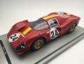 [予約]Tecnomodel(テクノモデル) 1/18 フェラーリ 330 P4 ル・マン24時間 1967 3位 #24 W.Mairesse - J.Beurly's