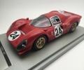 [予約]Tecnomodel(テクノモデル) 1/18 フェラーリ 330 P4 デイトナ24時間 1967 2位 #24 M.Parkes - L.Scarfiotti