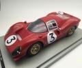 [予約]Tecnomodel(テクノモデル) 1/18 フェラーリ 330 P4 モンツァ1000km 優勝車 #3 L.Bandini - C.Amon