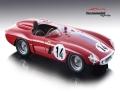 [予約]Tecnomodel(テクノモデル) 1/18 フェラーリ 750 モンツァ ル・マン24時間 1955 #14 Gregory/Sparken