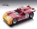 [予約]Tecnomodel(テクノモデル) 1/18 アルファ ロメオ T33/3 タルガフローリオ 1971 優勝車 #5 N.Vaccarella/T. Hezemans