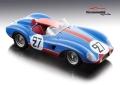 [予約]Tecnomodel(テクノモデル) 1/18 フェラーリ 500 TRC ル・マン 24時間 1957 #27 F. Tavano / J. Pèron