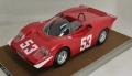 [予約]Tecnomodel(テクノモデル) 1/18 アバルト 2000 S イモラ レース トラック 1969 優勝車 #53 ORTNER/VAN LENNEP