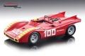 [予約]Tecnomodel(テクノモデル) 1/18 アバルト 2000 SP ENNA GP 1970 #100 A.Merzario