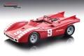 [予約]Tecnomodel(テクノモデル) 1/18 アバルト 2000 SP ムジェロ GP 1970 #9 N.Vaccarella