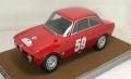 [予約]Tecnomodel(テクノモデル) 1/18 アルファ ロメオ ジュリア 1600 スプリント GTA ツール・ド・コルス 1966 #59 L.Bianchi